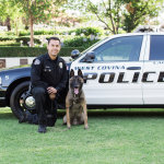 Officer Bryan Rodriguez and Reiko